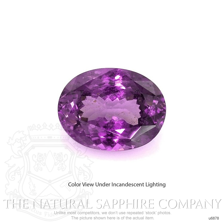Natural Untreated Color-Change Sapphire U6878 Image 2