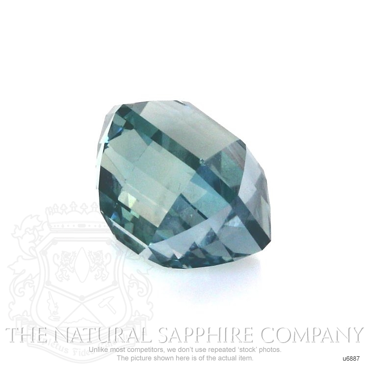 Natural Untreated Green Sapphire U6887 Image 3