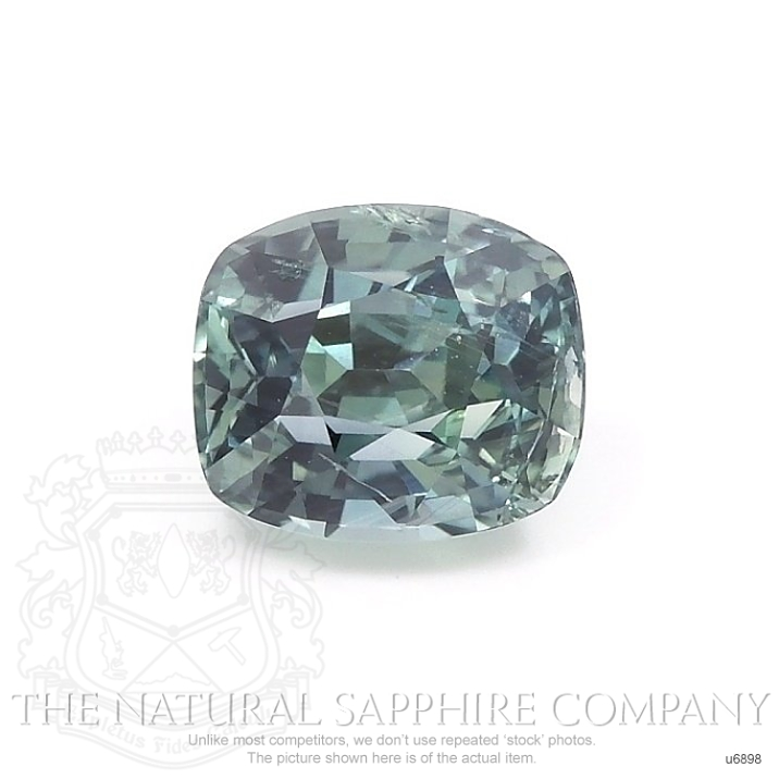 Natural Untreated Green Sapphire U6898 Image