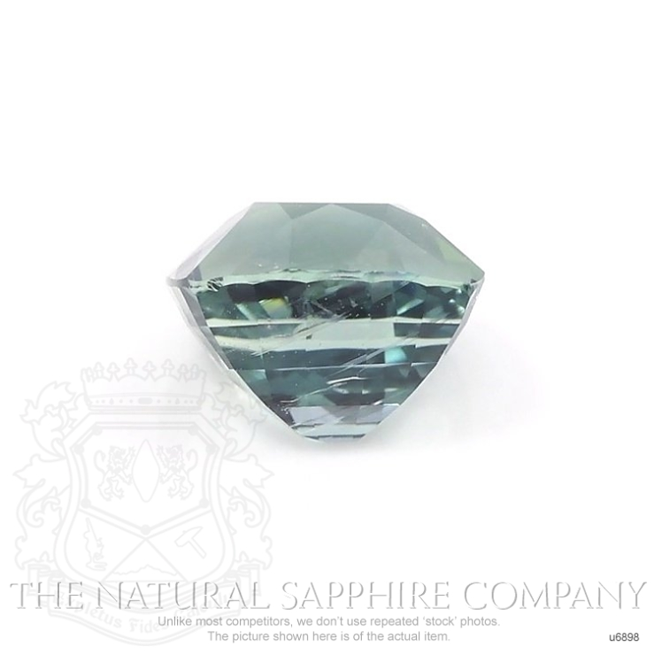 Natural Untreated Green Sapphire U6898 Image 2