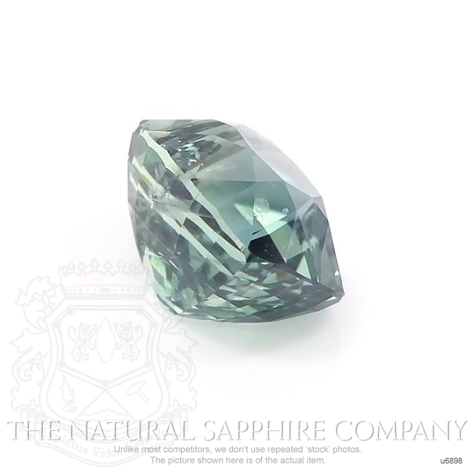 Natural Untreated Green Sapphire U6898 Image 3