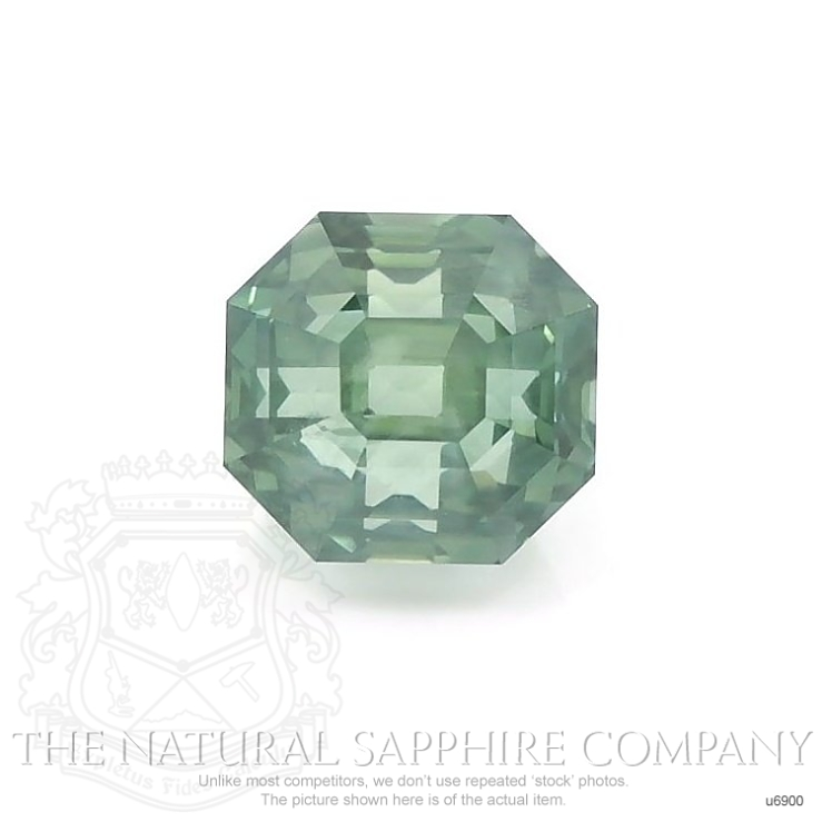 Natural Untreated Green Sapphire U6900 Image