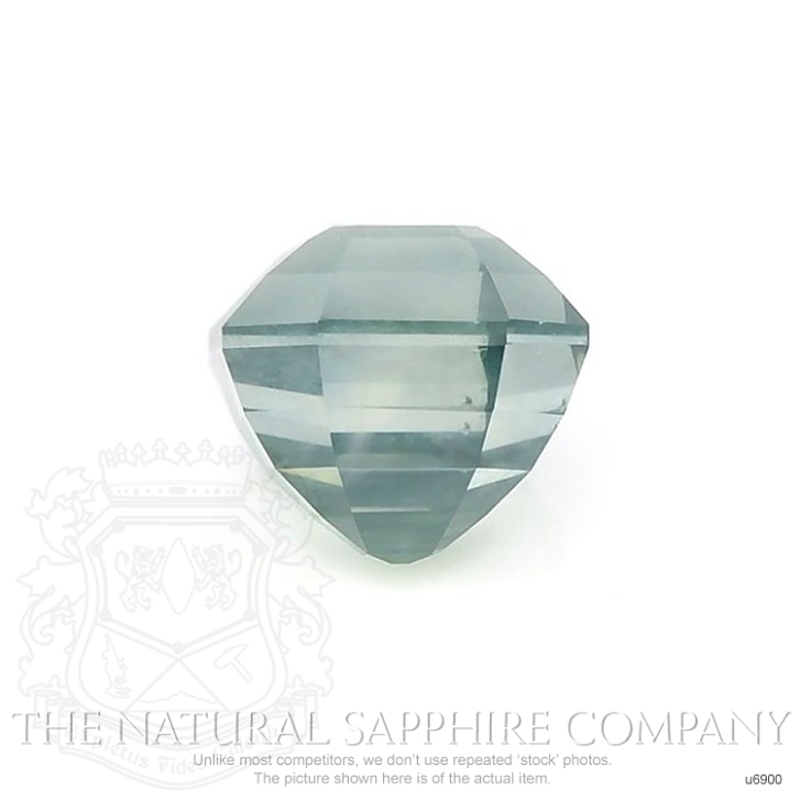 Natural Untreated Green Sapphire U6900 Image 2