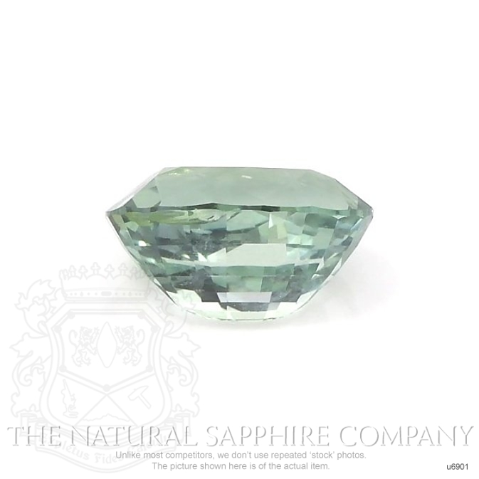 Natural Untreated Green Sapphire U6901 Image 2
