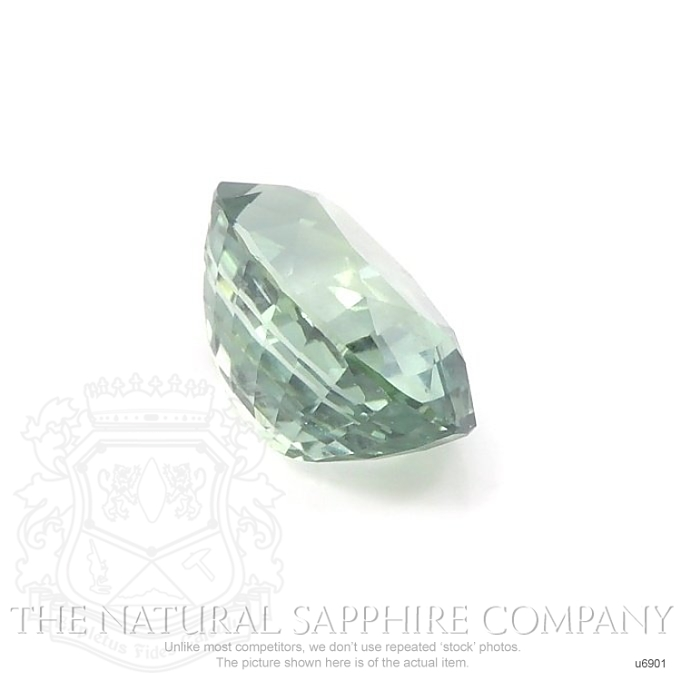 Natural Untreated Green Sapphire U6901 Image 3
