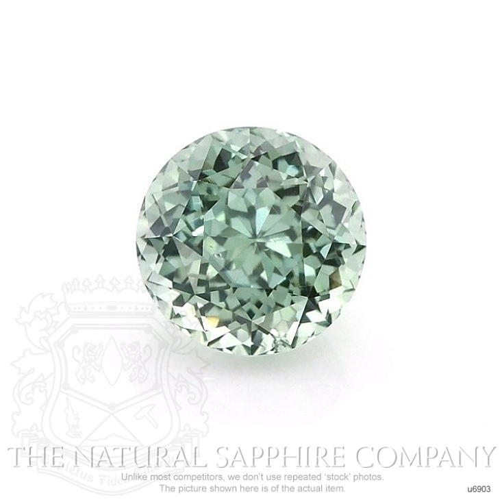Natural Untreated Green Sapphire U6903 Image