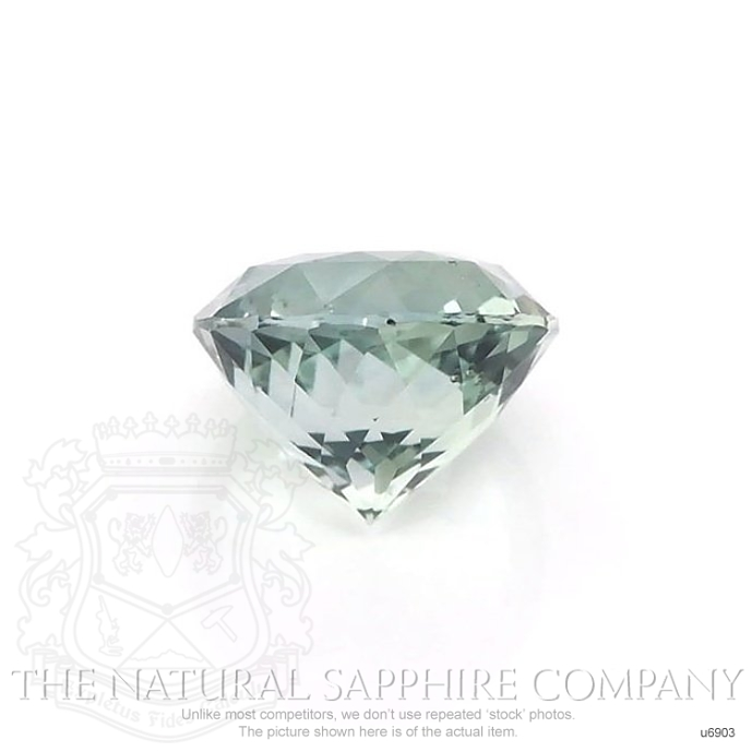 Natural Untreated Green Sapphire U6903 Image 2