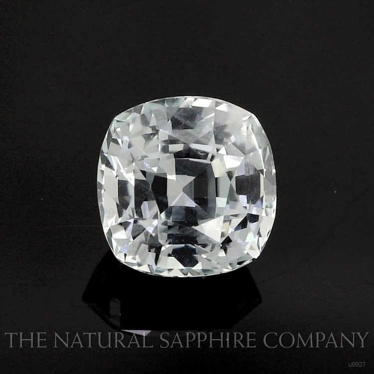 Natural Untreated Green Sapphire U6927 Image