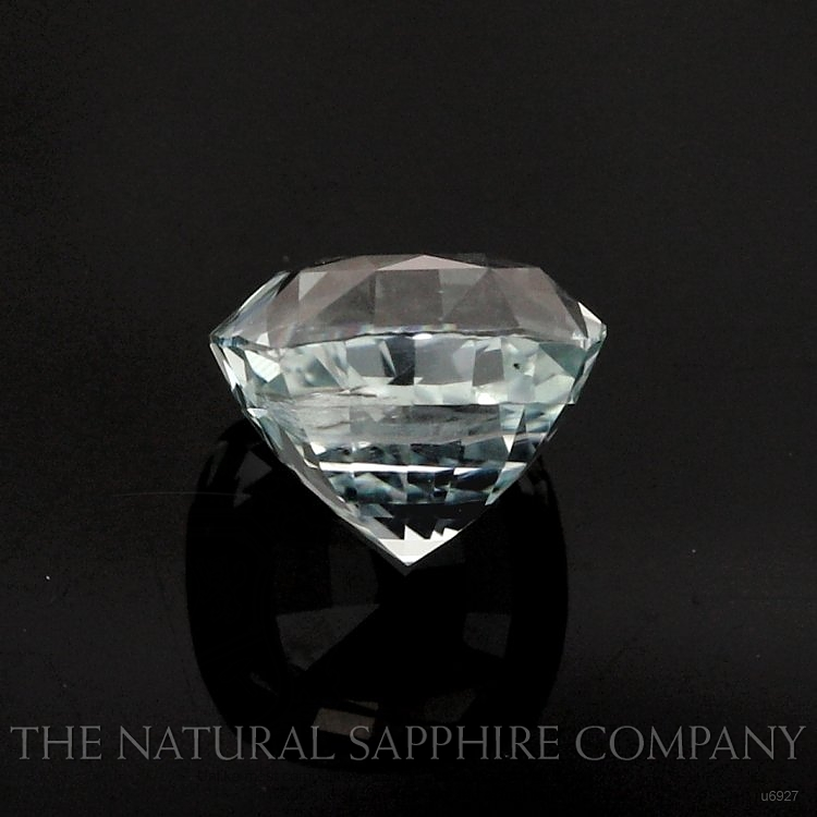 Natural Untreated Green Sapphire U6927 Image 2