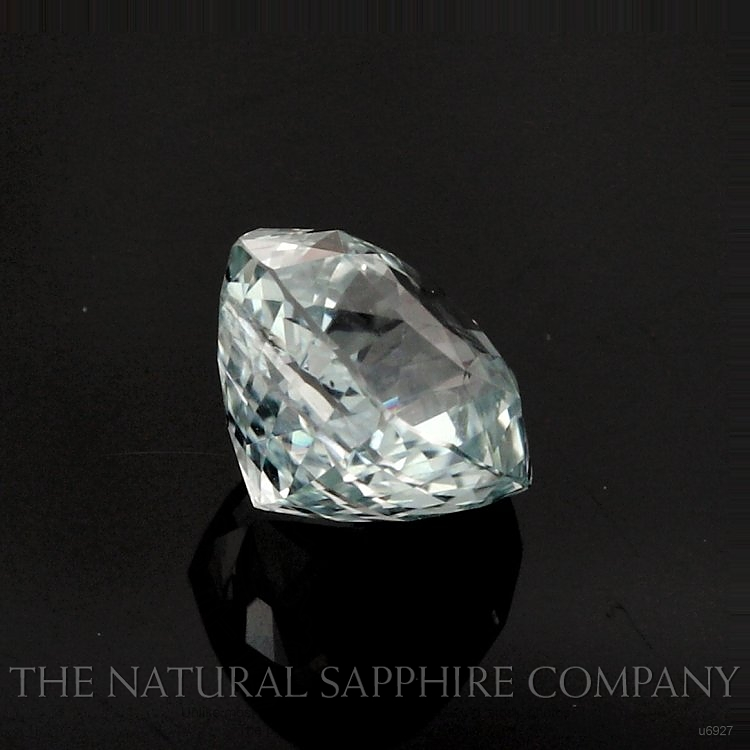 Natural Untreated Green Sapphire U6927 Image 3