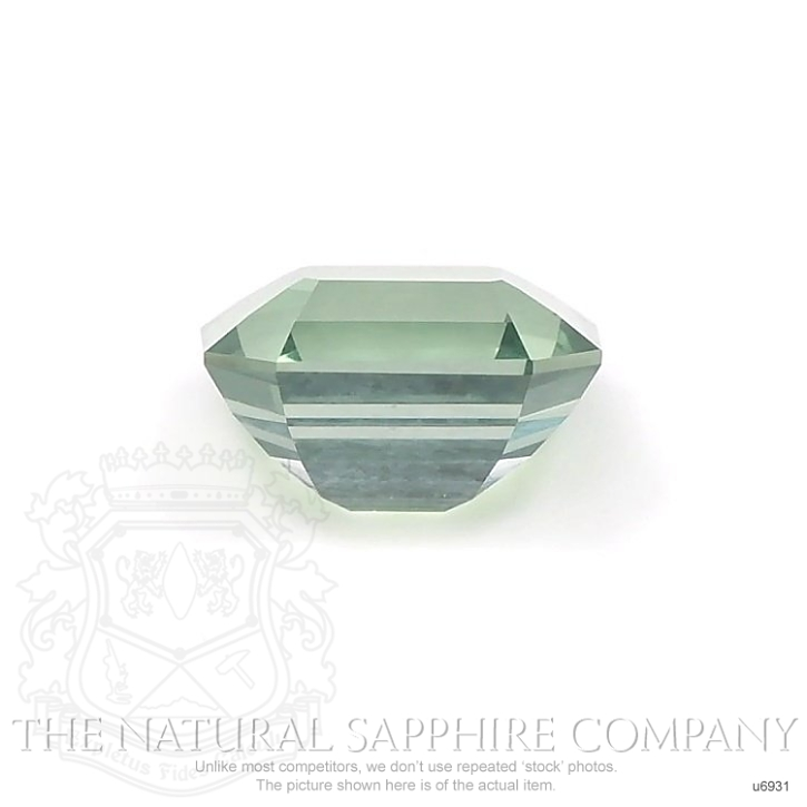 Natural Untreated Green Sapphire U6931 Image 2