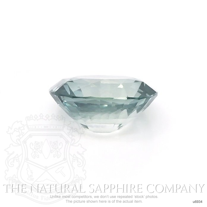 Natural Untreated Green Sapphire U6934 Image 2