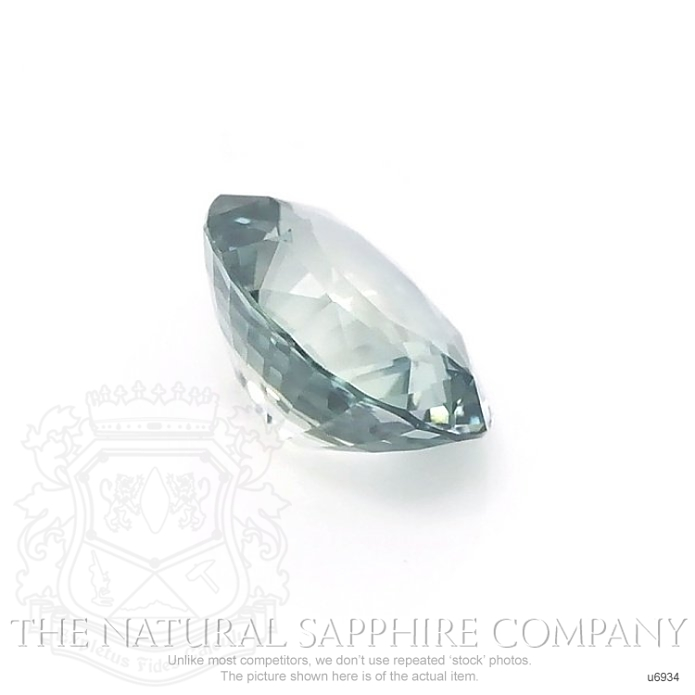Natural Untreated Green Sapphire U6934 Image 3