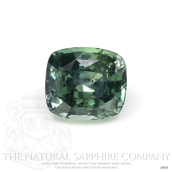 Natural Untreated Green Sapphire U6935 Image