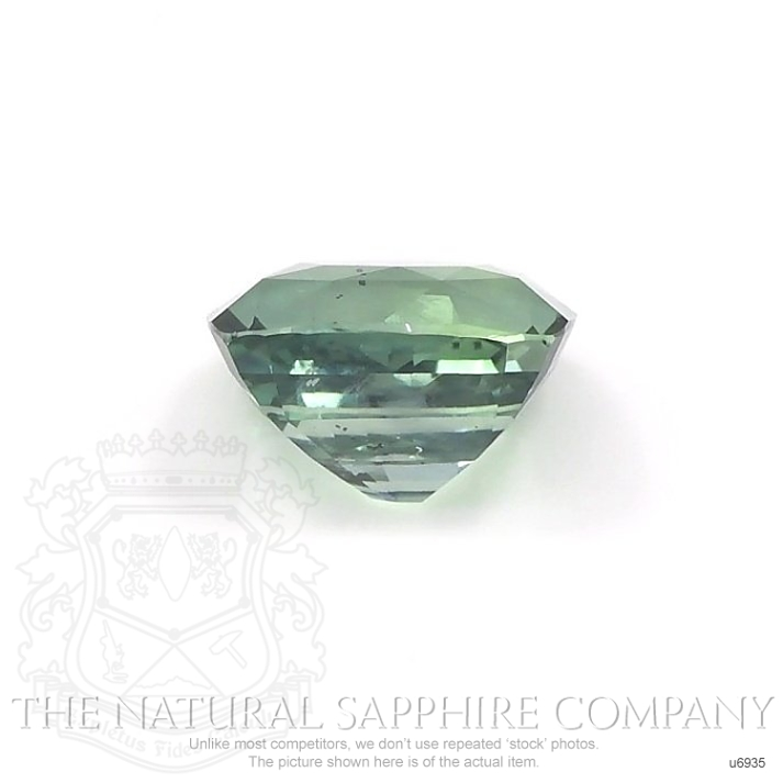 Natural Untreated Green Sapphire U6935 Image 2