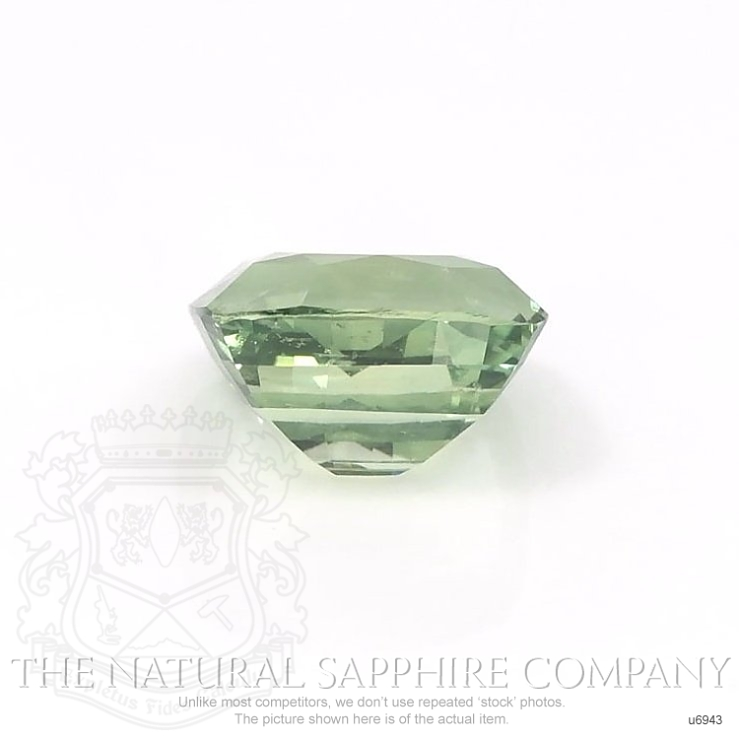Natural Untreated Yellowish Green Sapphire U6943 Image 2