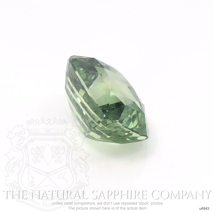 Natural Untreated Yellowish Green Sapphire U6943 Image 3