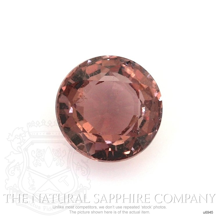 Natural Untreated Orangish Red Sapphire U6945 Image