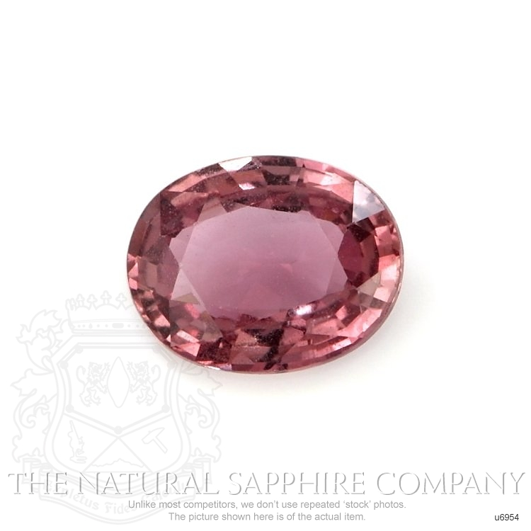 Natural Untreated Purplish Pink Sapphire U6954 Image