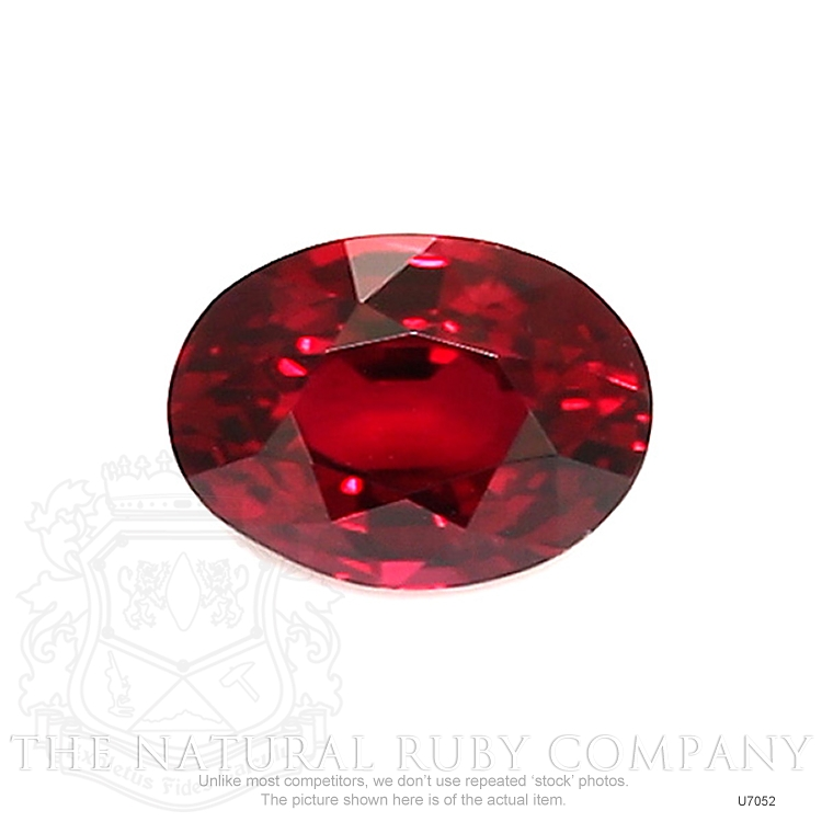 Natural Untreated Ruby U7052 Image