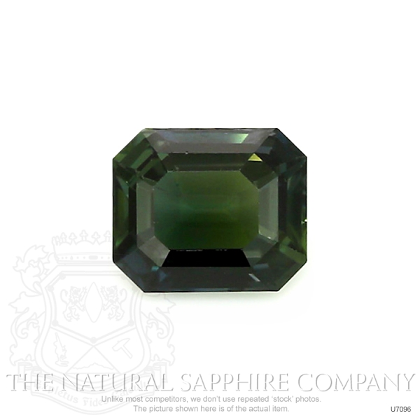 Natural Untreated Green Sapphire U7096 Image