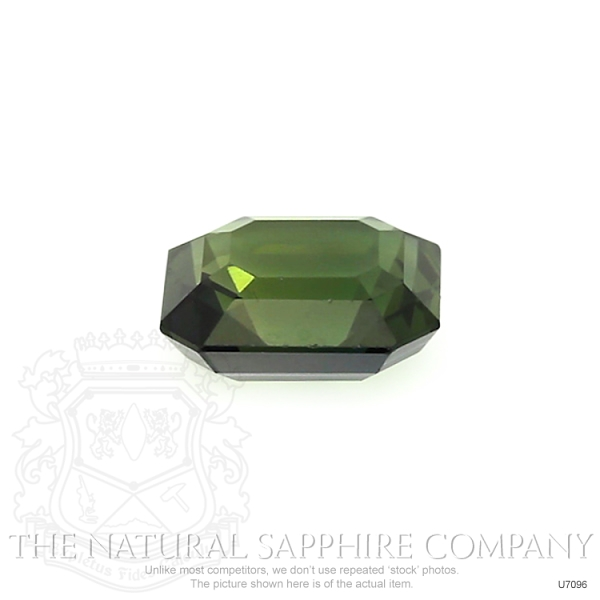 Natural Untreated Green Sapphire U7096 Image 2