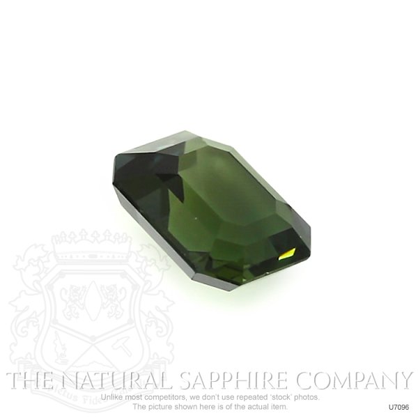 Natural Untreated Green Sapphire U7096 Image 3