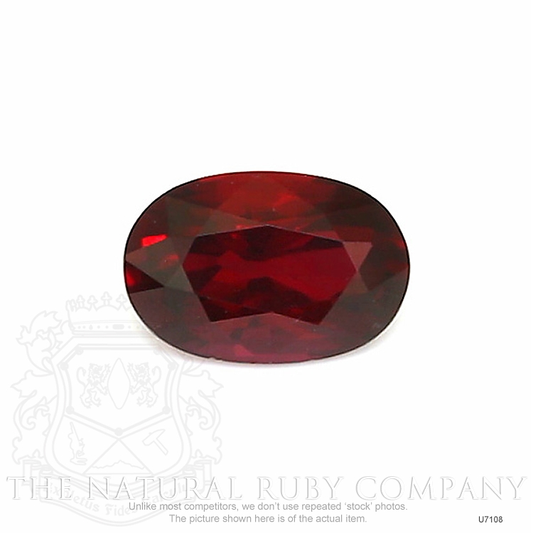 Natural Untreated Ruby U7108 Image