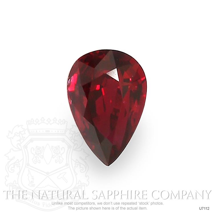 Natural Untreated Ruby U7112 Image