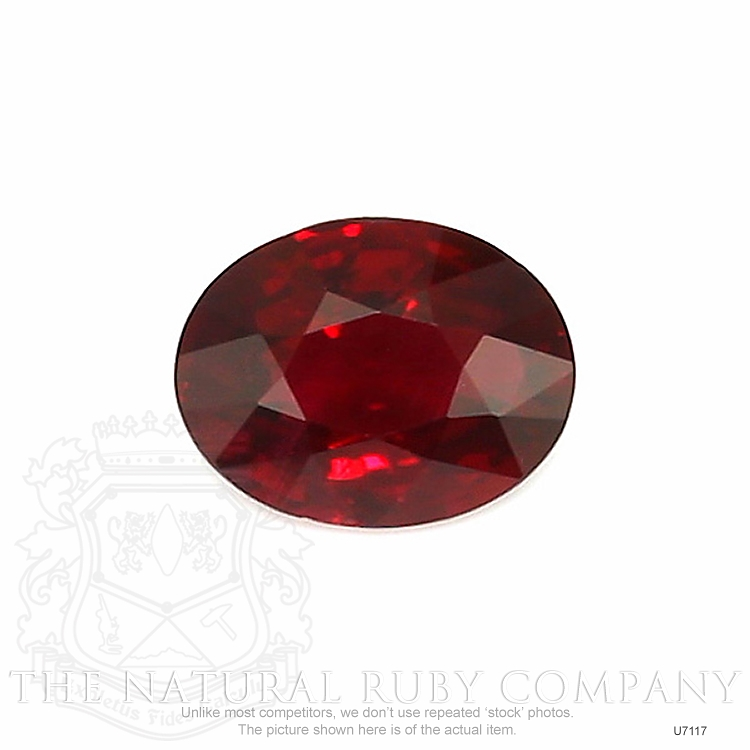 Natural Untreated Ruby U7117 Image