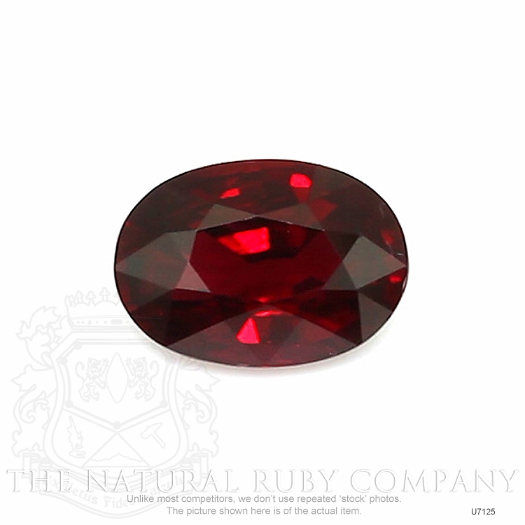 Natural Untreated Ruby U7125 Image