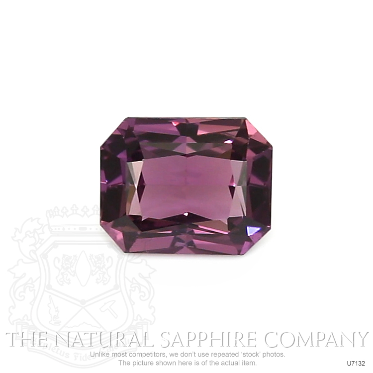 Natural Untreated Purple Sapphire U7132 Image