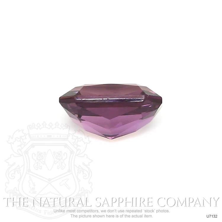 Natural Untreated Purple Sapphire U7132 Image 2