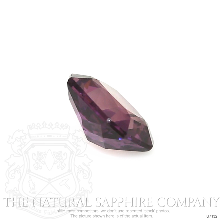 Natural Untreated Purple Sapphire U7132 Image 3