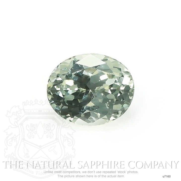 Natural Untreated Green Sapphire U7160 Image