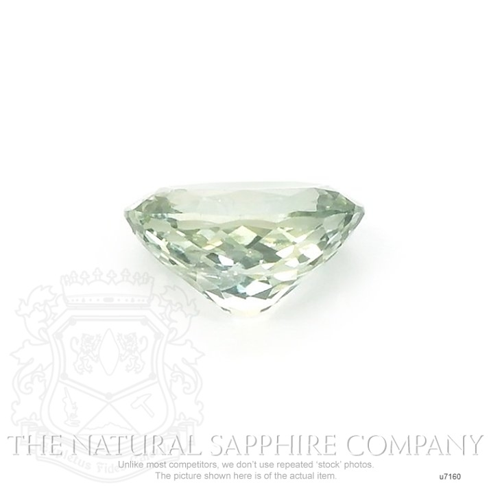 Natural Untreated Green Sapphire U7160 Image 2