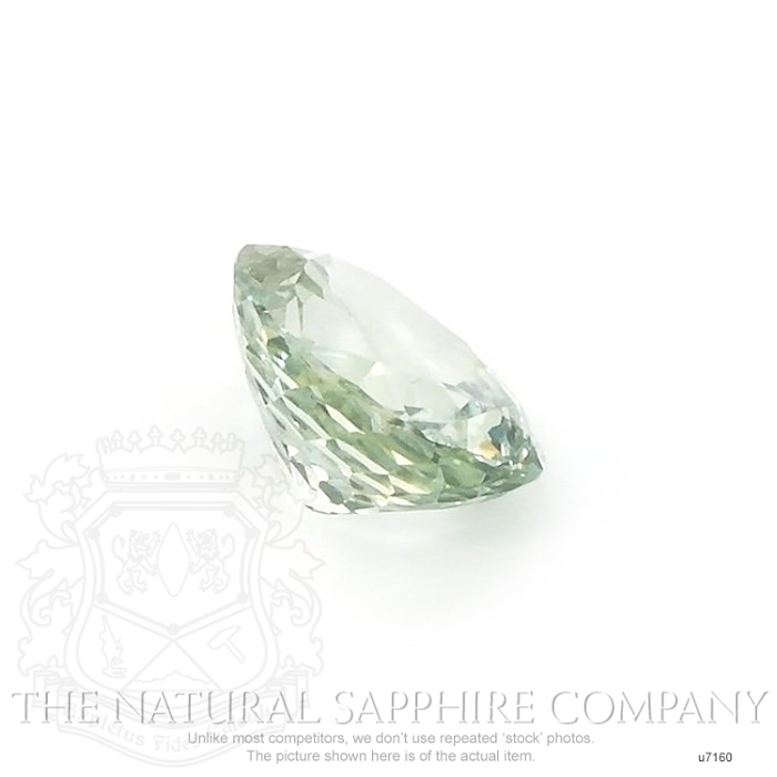 Natural Untreated Green Sapphire U7160 Image 3