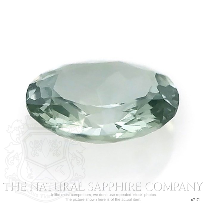 Natural Untreated Green Sapphire U7171 Image 2