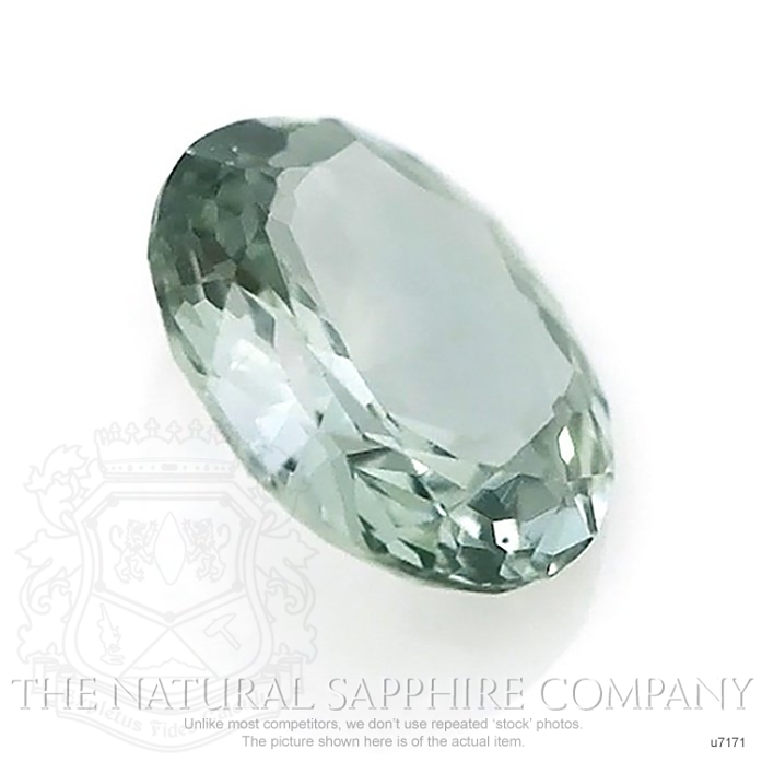 Natural Untreated Green Sapphire U7171 Image 3