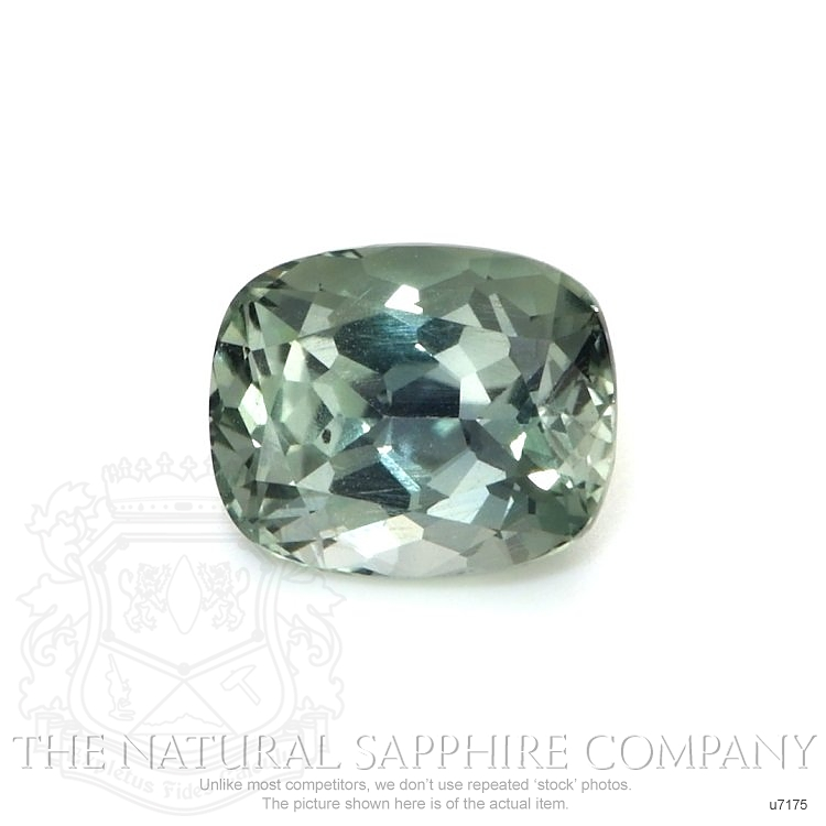 Natural Untreated Green Sapphire U7175 Image