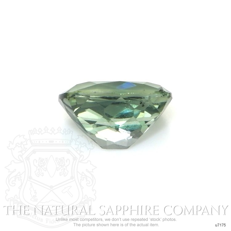 Natural Untreated Green Sapphire U7175 Image 2