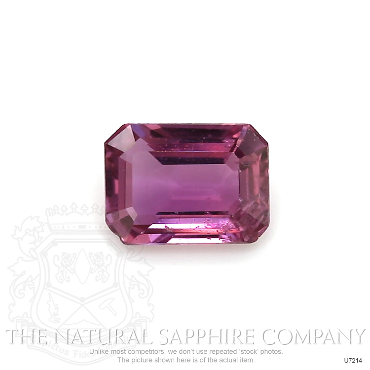Natural Untreated Purplish Pink Sapphire U7214 Image
