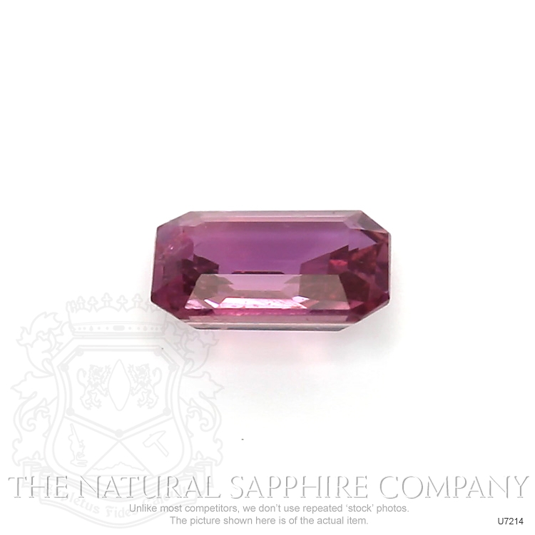 Natural Untreated Purplish Pink Sapphire U7214 Image 2