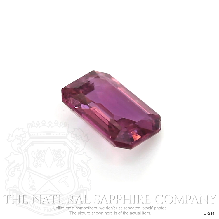 Natural Untreated Purplish Pink Sapphire U7214 Image 3
