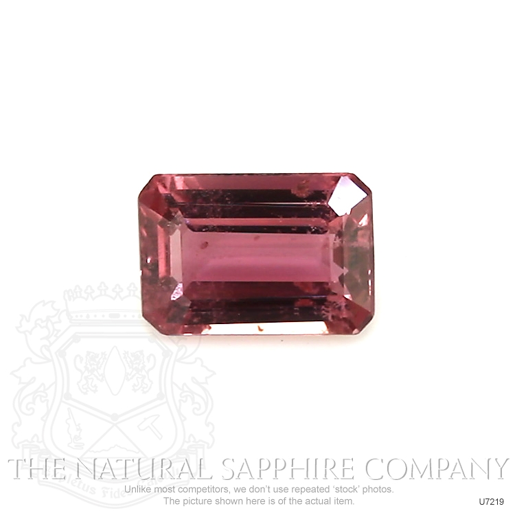 Natural Untreated Pinkish Red Sapphire U7219 Image