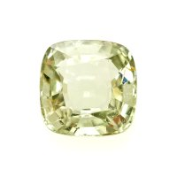 1.42ct Madagascar Cushion Greenish Yellow Sapphire - U7233