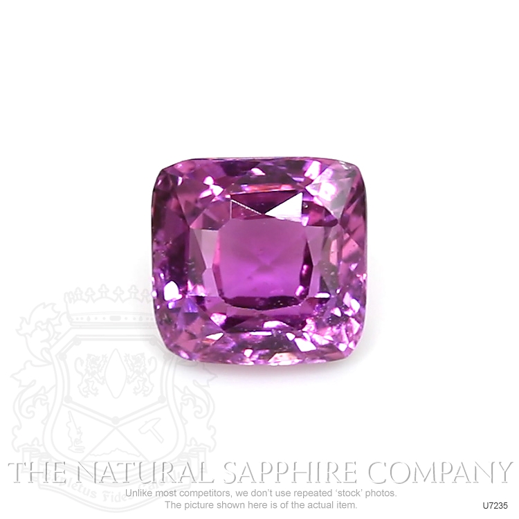 Natural Untreated Purplish Pink Sapphire U7235 Image