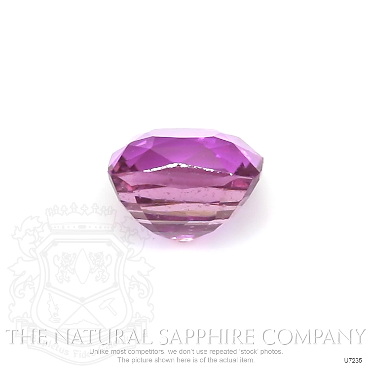 Natural Untreated Purplish Pink Sapphire U7235 Image 2