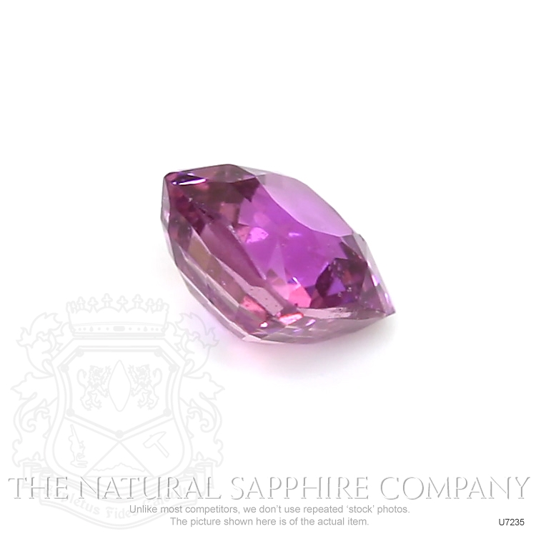 Natural Untreated Purplish Pink Sapphire U7235 Image 3