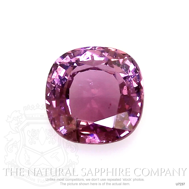Natural Untreated Purplish Pink Sapphire U7237 Image